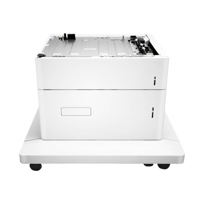 HP Inc. P1B12A Paper Feeder and Stand - Printer base with media feeder - 2550 sheets in 2 tray(s) - for Color LaserJet Managed E65150  E65160  Color L