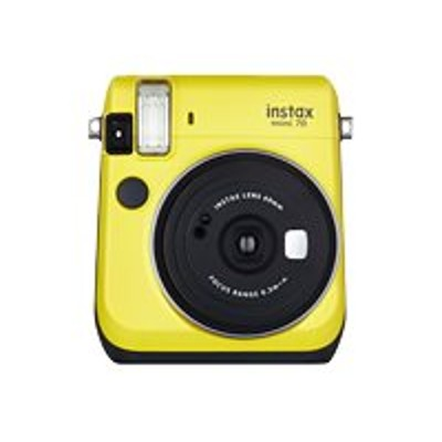 Fujifilm MINI70YLW CANDYKIT Instax Mini 70 - Candy Kit - instant camera - lens: 60 mm - canary yellow