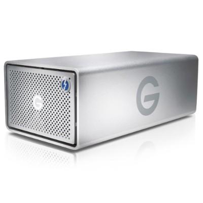 G-Technology 0G05748 8TB (2 x 4TB) G-RAID with Thunderbolt 3 - Hardware RAID 2-Bay Storage Solution with Enterprise Class 7200RPM Hard Drives  2x Thun