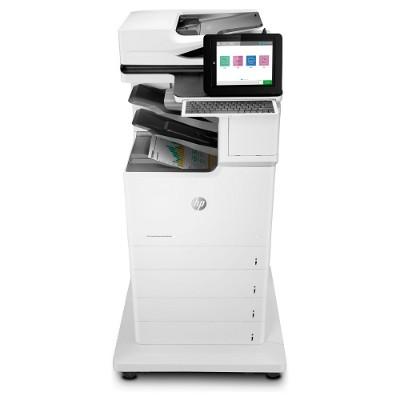 HP Inc. J8A13A#201 LaserJet Enterprise Flow M681z Multifunction Color Printer - Print  Copy  Scan  Fax  Up to 50 ppm (Black and Color)  1200x1200 dpi