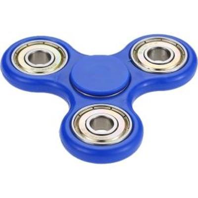 Worry Free Gadgets FIDGET-BLU MYEPADS Tri-Spinner Fidget Focus Toy for Kids & Adults - Fun - Blue