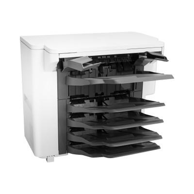 HP Inc. L0H20A Finisher with stacker/stapler/mailbox - 800 sheets - for LaserJet Enterprise M607  M608  M609  LaserJet Managed E60055  E60065  E60075
