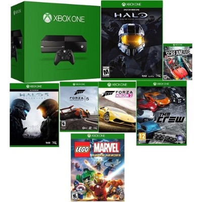 Click here for Microsoft MXBOX500G7GAM-B8/R XBOX One Console Bund... prices