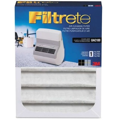 3M MMMOAC100RF Filtrete Replacement Filter for OAC100 Office Air Cleaner 40649356