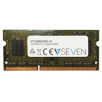 V7 V7128002GBS-LV 2GB DDR3 PC3L128001600MHZ SO DIMM Notebook Memory Module