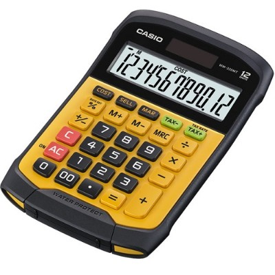Casio WM-320 WM-320MT Water-Protected and Dust-Proof Calculator