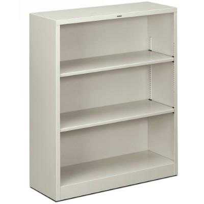Hon Hs42abc.q Brigade 3-shelf Bookcase 12.63d X 34.5w X 41h  Light Gray
