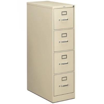 Hon H214.p.l 210 Series 4-drawer Vertical File 28.5d X 15w X 52h  Putty