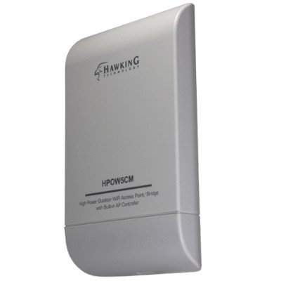 Hawking Technologies HPOW5CM High Power Wireless Access Point with Built-in AP Controller - 802.11b/g/n - 2.4 GHz (40680434) photo