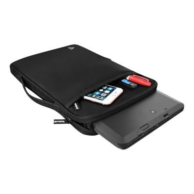 V7 CSE12HS-BLK-9N Notebook sleeve - 12 - black
