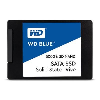 WD WDS500G2B0A Blue 3D NAND SATA SSD 500GB 2.5 Inch 7mm