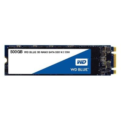 WD WDS500G2B0B Blue 3D NAND SATA SSD 500GB M.2 2280