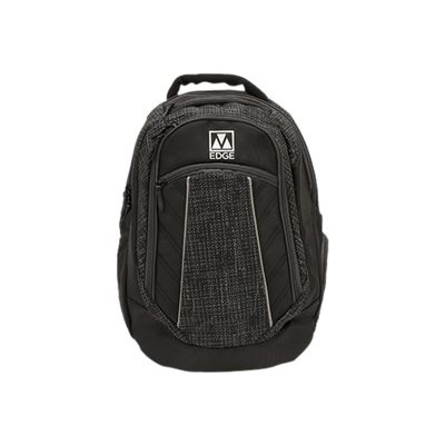 M-Edge Accessories BPK-CO6-PO-B Commuter Backpack with Battery - Notebook carrying backpack - 17 - black