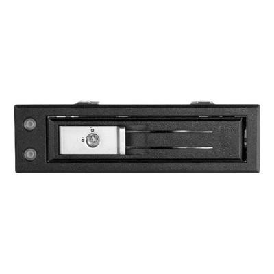 StarTech.com HSB13SATSASB 3.5 SATA/SAS Hard Drive Mobile Rack for 5.25 Bay - Trayless - Storage bay adapter - 5.25 to 3.5 - SATA 6Gb/s / SAS 6Gb/s