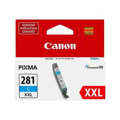 Canon 1980C001 CLI-281 C XXL - 11.7 ml - XXL size - cyan - original - ink tank - for PIXMA TR7520  TR8520  TS6120  TS6320  TS702  TS8120  TS8320  TS91