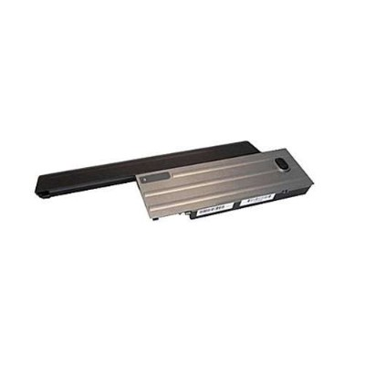 eReplacements 310-9081-ER Notebook battery (equivalent to: Dell 310-9081) - 1 x lithium ion 9-cell 7800 mAh - black/silver - for Dell Latitude D620  D