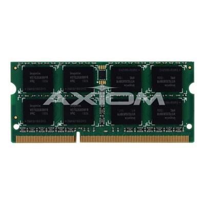 Axiom Memory Y7B57AT-AX AX - DDR4 - 8 GB - SO-DIMM 260-pin - 2400 MHz / PC4-19200 - CL17 - 1.2 V - unbuffered - non-ECC - for HP Workstation Z2 Mini G