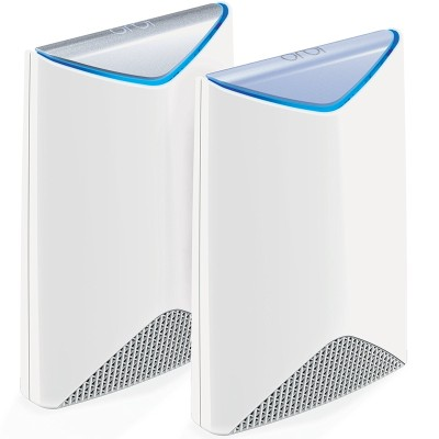NETGEAR SRK60-100NAS Orbi Pro Business Wi-Fi System - AC3000 Tri Band Network with Router and Satellite