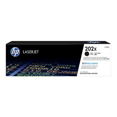 HP Inc. CF500X 202X - High Yield - black - original - LaserJet - toner cartridge (CF500X) - for Color LaserJet Pro M254dw  M254nw  MFP M280nw  MFP M28