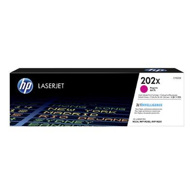 HP Inc. CF503X 202X - High Yield - magenta - original - LaserJet - toner cartridge (CF503X) - for Color LaserJet Pro M254dw  M254nw  MFP M280nw  MFP M