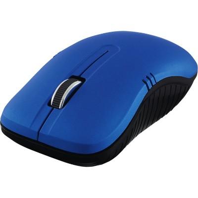 Verbatim 99766 Wireless Notebook Optical Mouse  Commuter Series - Matte Blue