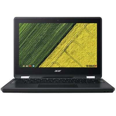 "Acer Chromebook Spin 11 R751T-C4XP - Flip design - Celeron N3350 / 1.1 GHz - Chrome OS - 4 GB RAM - 32 GB eMMC - 11.6"" AHVA touchscreen 1366 x 768 (HD) - HD Graphics 500 - Wi-"