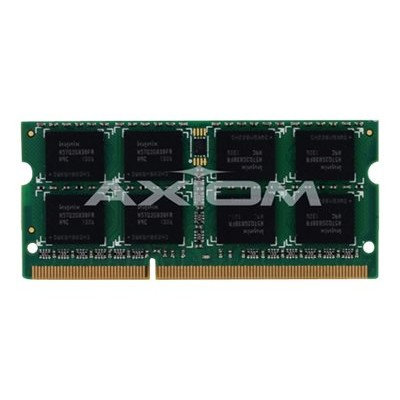 Axiom Memory Y7B56AA-AX AX - DDR4 - 8 GB - SO-DIMM 260-pin - 2400 MHz / PC4-19200 - CL17 - 1.2 V - unbuffered - ECC - for HP Workstation Z2 Mini G3 En