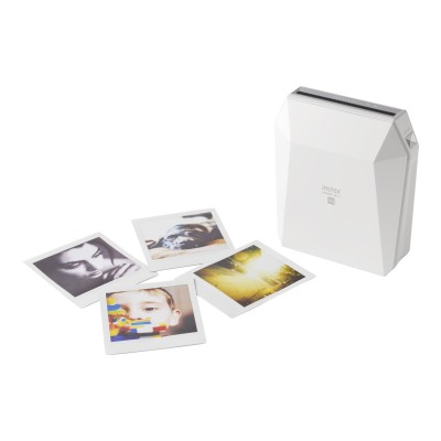 Fujifilm 16558085 instax SHARE SP-3 - Printer - color - LED - 2.44 in x 2.44 in - capacity: 10 photos - Wi-Fi(n) - white