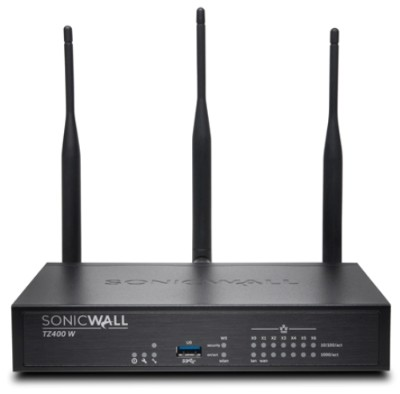SonicWall 01-SSC-3039 TZ400 Wireless-AC - Security appliance - with 3 years  Advanced Gateway Security Suite - 7 ports - GigE - Wi-Fi - Dual Band -  P