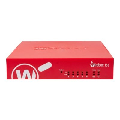 WatchGuard WGT56063-US Firebox T55-W - Security appliance - with 3 years Basic Security Suite - 5 ports - GigE - Wi-Fi - Dual Band -  Trade-Up Program