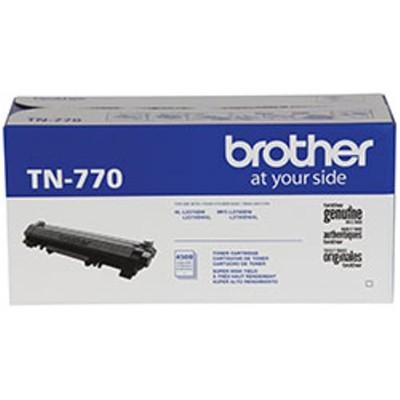 Brother TN770 TN770 - Super High Yield - black - original - toner cartridge - for  HL-L2370DW  HL-L2370DW XL  MFC-L2750DW  MFC-L2750DWXL