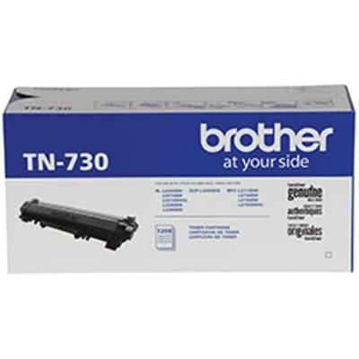 Brother TN730 TN730 - Black - original - toner cartridge - for  DCP-L2550  HL-L2350  L2370  L2375  L2390  L2395  MFC-L2710  L2750  HL-L2390  L2395