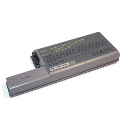 V7 312-0402-EV7 Battery for select Dell Latitude Laptops - 11.1V  9 Cells  Lithium-ion  7800mAh