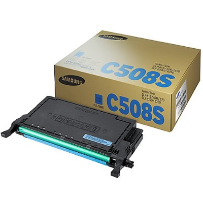 HP Inc. SU067A Samsung CLT-C508S - Cyan - original - toner cartridge (SU067A) - for Samsung CLP-620  CLP-670  CLX-6220  CLX-6250