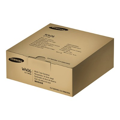 HP Inc. SU426A Samsung CLT-W406 - Black  yellow  cyan  magenta - waste toner collector - for Samsung CLX-3300  3302  3303  3304  3305  3306  3307  SCX