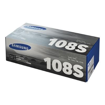 HP Inc. SU786A Samsung MLT-D108S - Black - original - toner cartridge (SU786A) - for Samsung ML-1640  ML-1641  ML-1642  ML-1645  ML-2240  ML-2241  ML-