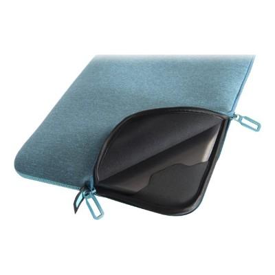 Tucano BFM1314-Z Second Skin Melange - Notebook sleeve - 13 - 14 - sky blue