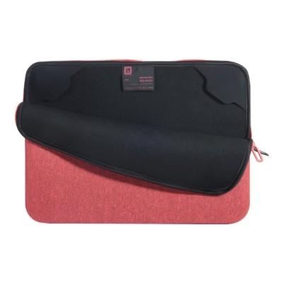 Tucano BFM1314-RR Second Skin Melange - Notebook sleeve - 13 - 14 - red