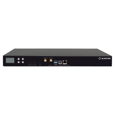 Black Box LES1748A LES1700 Series LES1748A - Console server - 48 ports - RS-232 - Wi-Fi - AC 100 - 240 V - 1U - rack-mountable