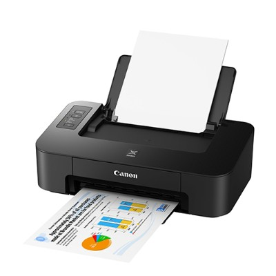 Canon 2319C002 PIXMA TS202 - Printer - color - ink-jet - A4/Letter - up to 7.7 ipm (mono) / up to 4 ipm (color) - capacity: 60 sheets - USB 2.0 with