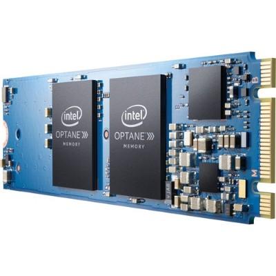 Intel MEMPEK1J064GA01 64GB Intel Optane Memory Series M.2 22 x 80mm PCIe 3.0  20nm  3D Xpoint Solid State Drive