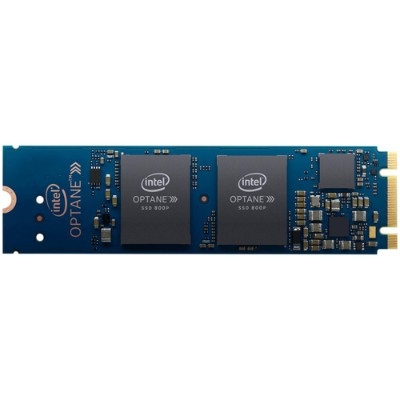 Intel SSDPEK1W060GAXT Solid-State Drive 800p Series - Solid state drive - 60 GB - 3D Xpoint (Optane) - internal - M.2 2280 - PCI Express 3.0 x2 (NVMe)