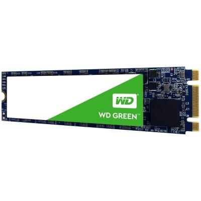 WD WDS240G2G0B WD Green PC SSD WDS240G2G0B - Solid state drive - 240 GB - internal - M.2 2280 - SATA 6Gb/s