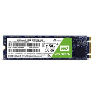 WD WDS120G2G0B WD Green PC SSD WDS120G2G0B - Solid state drive - 120 GB - internal - M.2 2280 - SATA 6Gb/s