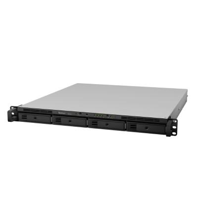 Synology RS818+ RackStation RS818+ - NAS server - 4 bays - rack-mountable - SATA 6Gb/s - RAID 0  1  5  6  10  JBOD  5 hot spare  6 hot spare  10 hot spare  1 ho