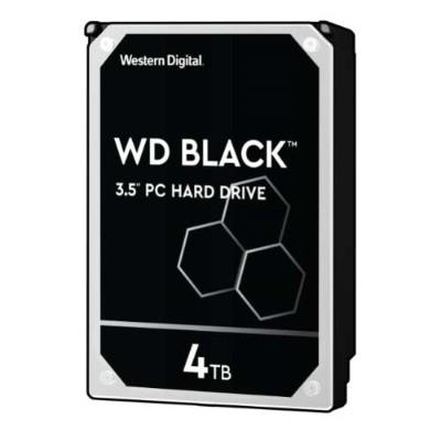 WD WD4005FZBX WD Black WD4005FZBX - Hard drive - 4 TB - internal - 3.5 - SATA 6Gb/s - 7200 rpm - buffer: 256 MB