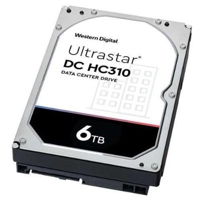 WD 0B36039 Ultrastar DC HC310 6TB SATA 7200rpm 128MB Buffer 3.5 Internal Hard Drive