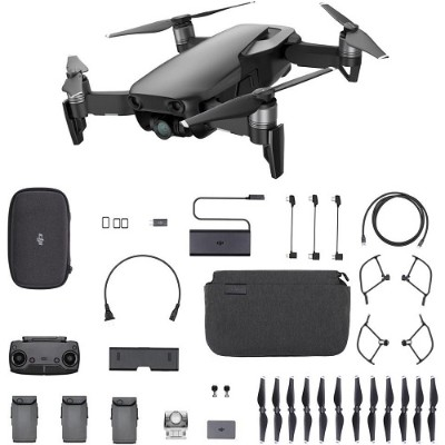 DJI CP.PT.00000156.01 Mavic Air Fly More Combo - Onyx Black