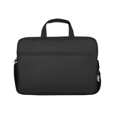 Urban Factory TLS14UF Nylee Toploading Laptop Bag 14.1 Black - Notebook carrying case - 14 - black