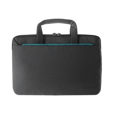 Tucano WO3S-MB13-BK Work-out III Super Slim Bag - Notebook carrying case - 13 - black - for Apple MacBook Air (13.3 in)  MacBook Pro (13.3 in)  with R